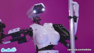 A human being having both sex organs Camsoda - sex robot vs human, twerk, dirty talk and orgasm contest