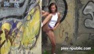 Desperate girl pee take Desperate girls must pee in public park but get caught on camera