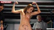 Bdsm slave adverts Letsdoeit - crowd bdsm domination for slave babe kira parvati