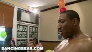 Dancing bear porn video streaming Dancing bear - this birthday party gets turnt up by big dick male strippers