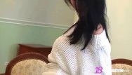 Huge tits in sweaters Smoking hot brunette katie fey teases in sweater thong