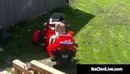 Vintage case garden tractors Cam cutie its cleo rides dildo tractor -wtf