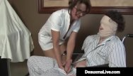 Harbor medical ass Medical provider deauxma strokes her patients hard cock