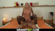 Granny movies sex stockings Very old blonde granny in stockings rides strangers cock
