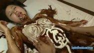 Asian boy nude chocolate - Jav idol suzu ichinose covered in chocolate and cream fucked in many pos
