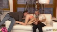 Hot father son sex Daddy4k. son joins dirty sex actof his girlfriend and lustful father