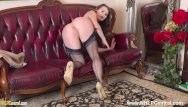 Fitting vintage faucets Arousal expert fit brunette brook logan jerks off with you in nylons heels