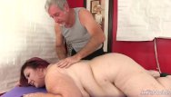 Mature big natural boobs Fat mature with huge natural boobs lady lynn receives an orgasmic rubdown