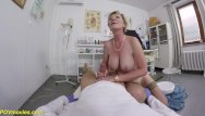 Crazy mature moms tube Hairy 71 years old mom pov fucked by her doctor