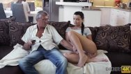 Mature grey pubic hair Daddy4k. grey-haired old man with glasses fucks beautiful young girl erica