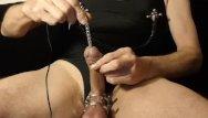 Urethral sound sex Kinky urethral fucking masoslut e-stim