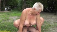 Granny mature old - Stepson fucks mom on public beach