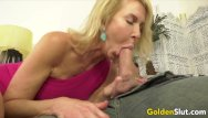 Mature sluts daughter - Golden slut - blonde mature beauties blowjob compilation part 3