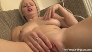 Erect breast nipples - Blonde babe with perky nipples and one big lip goes multi orgasmic