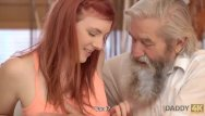 Man masturbation gallery Daddy4k. lovely redhead has crazy sex with old man while watching tv