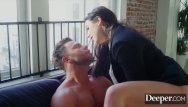 Blowjob salve Deeper. seth submits to dominant boss angela white