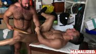 Gay naked hairy latinos Manalized petite latino armond rizzo hammered by daddy bear