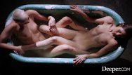 Usher threesome Deeper. catalina shares her gf paris in hot threesome