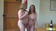 Lesbian mature teem Oldnanny two british mature lesbians masturbation