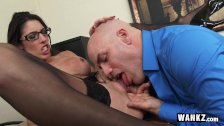 Hot Secretary Gets Pounded By Her Boss!