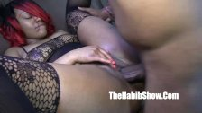 thickred gets banged and nutted on by bbc jov