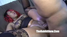 thickred has some good pussy banged by bbc jo
