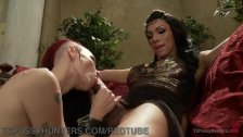 Bored Empress Amuses Herself With Her Slave