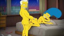 Cartoon Porn Simpsons Porn mom Marge have