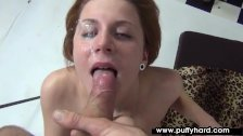 Amateur Ritta Red Tries Out In The Studio