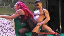 Camila Montalban show erotico SEM 2015