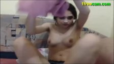 Very hot Gina on msn cam at 1freecam com