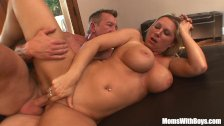 Busty Blonde Housewife Devon Lee Pierced Puss