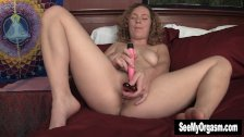 Sweet Ruby Toying Her Cooshie