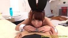 Japanese usagi babe Yui Hatano pussyfucked