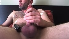 Thick Cut Cock Jerking Off