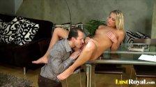 Christina pleasures in the most bizarre ways