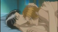 Handsome hentai gay couple hardcore anal sex