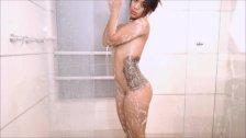 Indian Twerk - Nasty shower Dildo rider