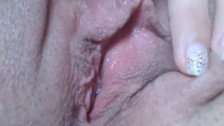 my sisters wet pussy hole closeup 1a