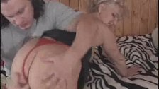 Stripped And Fingered Granny