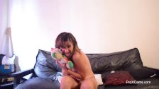 Girl Next Door Amateur Cam Girl Striptease