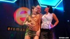 Wet pornstars dancing erotically