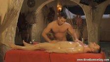 Beautiful Massage For His Pleasure