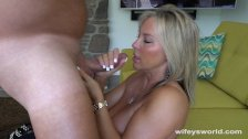 Wifey Loves To Swallow Cum