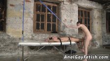 Bondage gay porn free Two extremely hung