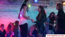 Euro party amateur babes jizzed in mouth