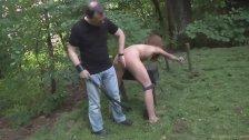 Cry bondage slut, you deserve punishment and wood fuck
