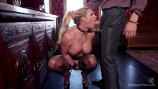 Anal MILF Trains Lazy Daughter-in-Law