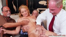 Young and old grope in bus Frankie And The