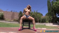 POVPerverts - Blonde Babe, Carter Cruise, Fucks and Swallows POV Style